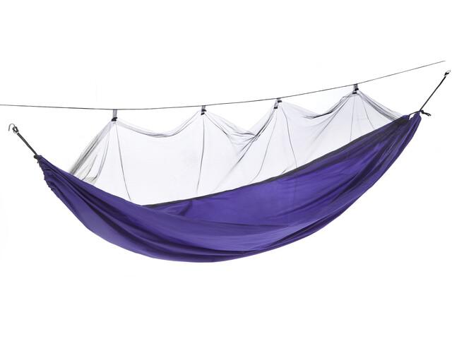 CAMPZ Nylon Mosquito Net Hammock Ultralight, purple
